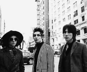 aesthetic, band, and black&white image