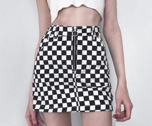 babe, racer, and checkered image