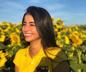 girl and yellow image