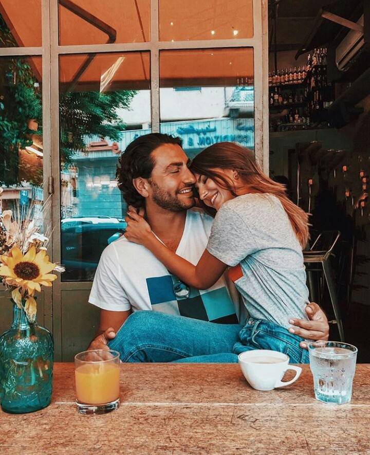 aesthetic, couple, and jeans image