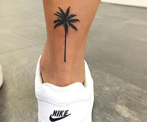 tattoo, nike, and palm image