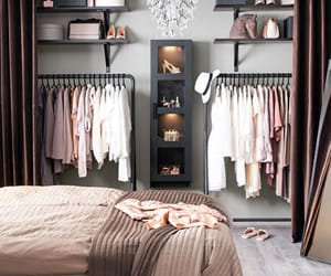 home, clothes, and bedroom image
