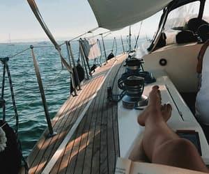 explore, ocean, and read image