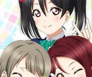 anime girl, beautiful, and love live image