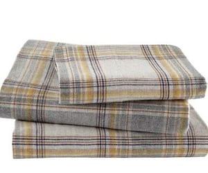 flannel bed sheet set image