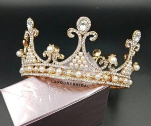 crown, tumblr, and girly image