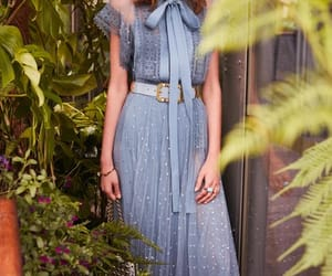 blue, elie saab, and dress image