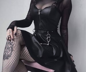aesthetic, fashion, and goth image