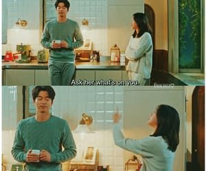 aesthetic, subtitles, and gong yoo image
