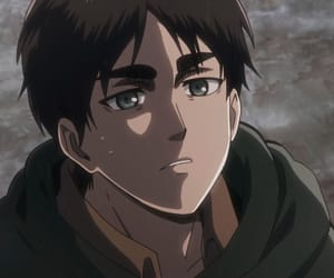 shingeki no kyojin, eren jaeger, and attack on titans image
