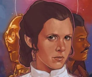 Empire Strikes Back, Princess Leia, and star wars image