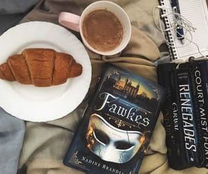 beautiful, books, and breakfast image