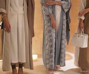 abaya, hijab, and muslim image