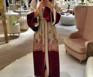 hijab, abaya, and muslim image