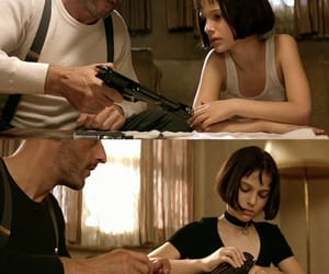 film, leon, and matilda image