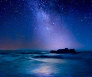 stars, nature, and night image