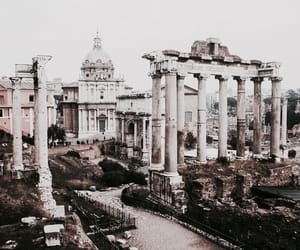 architecture, rome, and travel image