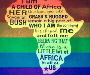 africa, colors, and quote image