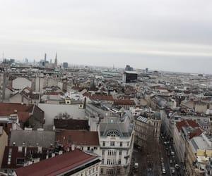 city, vienna, and lifetyle image