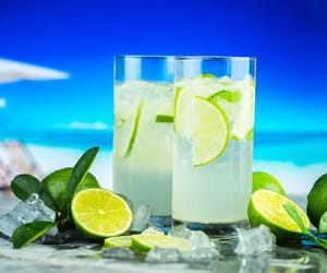 lime, summer, and hydration image