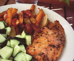 bbq, delicious, and dinner image