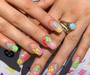 nails, girl, and fashion image