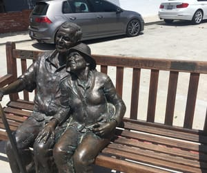 banco, bench, and sculpture image