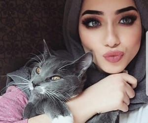beauty, hijab, and fashion image
