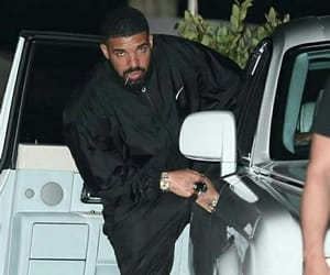 car, drizzy, and Drake image