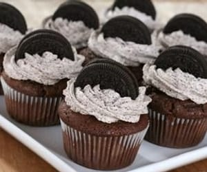 cake, cupcake, and oreo image