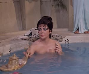 cleopatra, gif, and vintage image