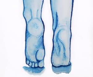 art, feet, and shading image