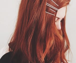 hair, ginger, and redhead image