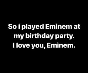 birthday, eminem, and hiphop image