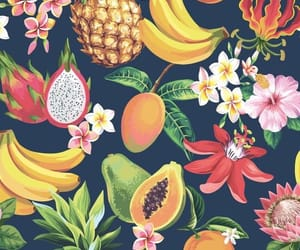 background, summer, and FRUiTS image