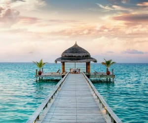 Maldives, beautiful, and holiday image