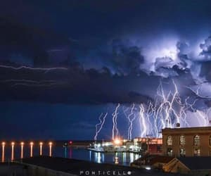 bolt, storm, and thunderstorm image