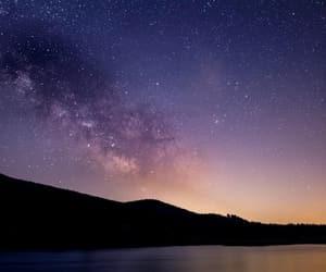galaxy, phone, and purple image