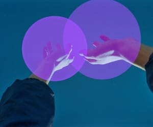 hands, purpule, and superpower image