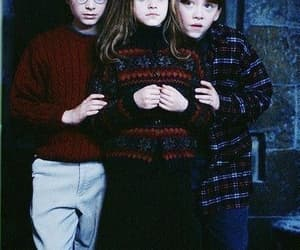 harry potter, ron, and hermione granger image