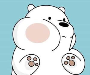ice bear, wallpaper, and we bare bears image