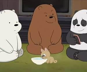 bros, cartoon, and we bear bears image