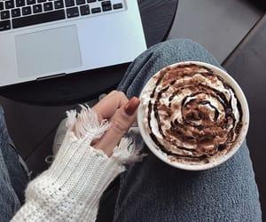 aesthetic, chocolate, and cream image