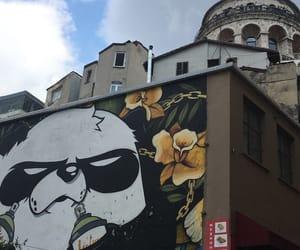 background, graffiti, and istanbul image