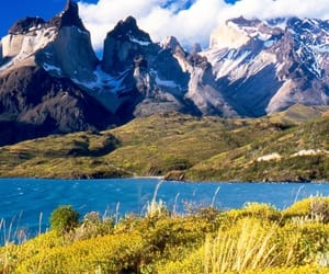 blue sky, chile, and national park image