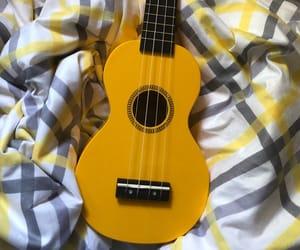 aesthetic, guitar, and ukulele image