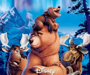 disney, movie poster, and brother bear image