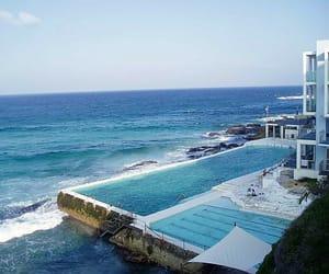 australia, swimming pool, and bondi beach image
