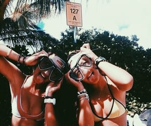 fun, snorkeling, and happy image