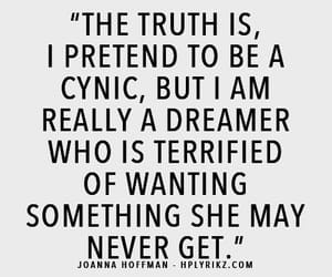 dreamer, quotes, and cynic image